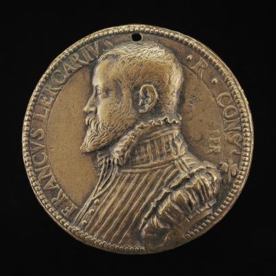 Image for Franco Lercari [obverse]; Figure Carrying a Cornucopiae [reverse]