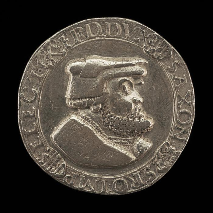 Image for Friedrich III the Wise, 1463-1525, Duke and Elector of Saxony 1486 [obverse]; Cross within a Circle [reverse]