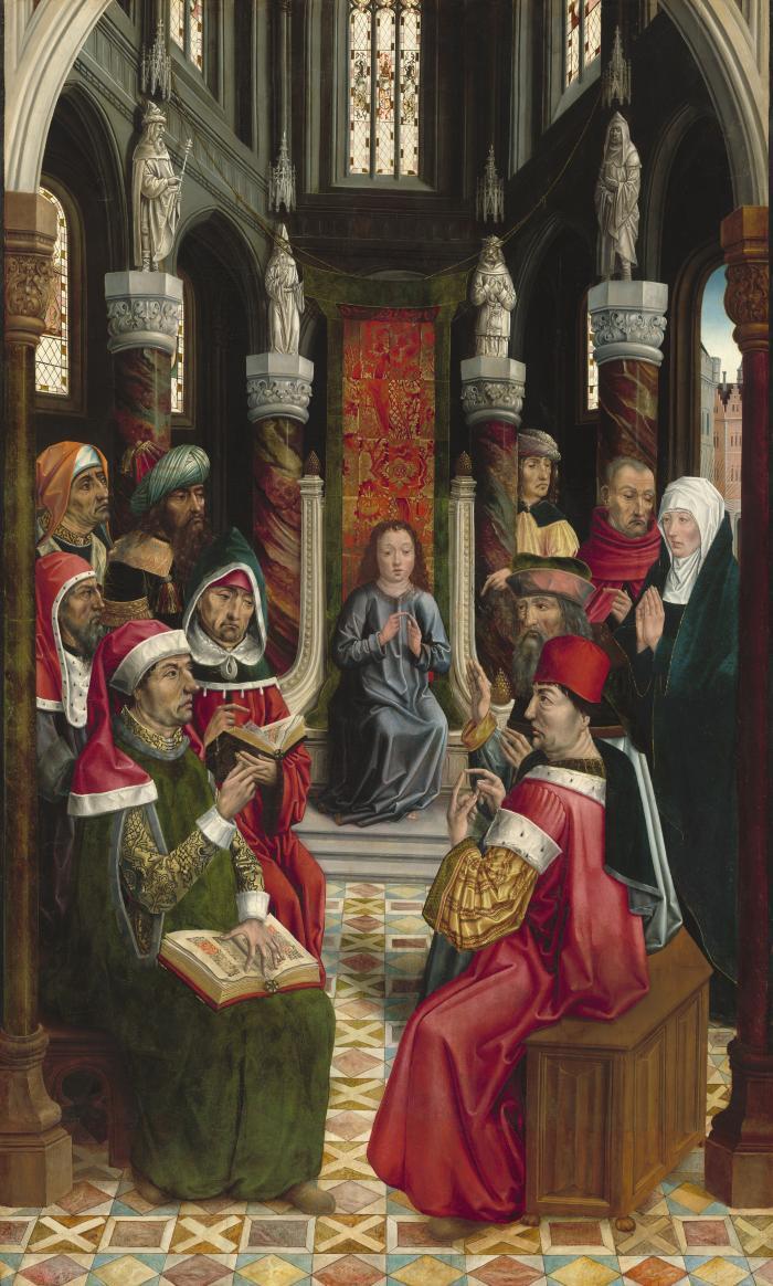 Image for Christ among the Doctors