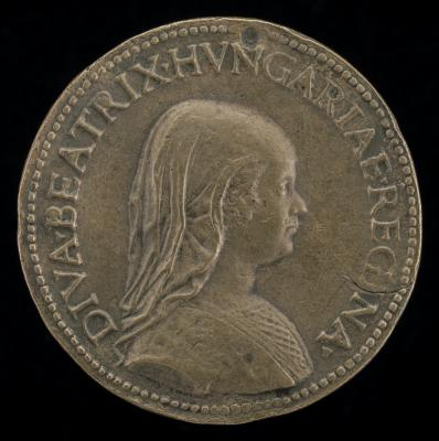Image for Beatrice of Aragon, 1457-1508 [obverse]