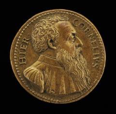 Image for Girolamo Cornaro, c. 1486-1551, Venetian Patrician [obverse]; Cornaro Distributing Alms [reverse]