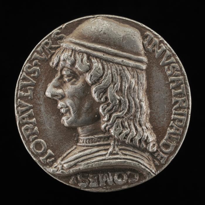 Image for Giovanni Paolo Orsini, 1450/1455-1502, Count of Atripaldi 1486 [obverse]; Orsini on Horseback [reverse]