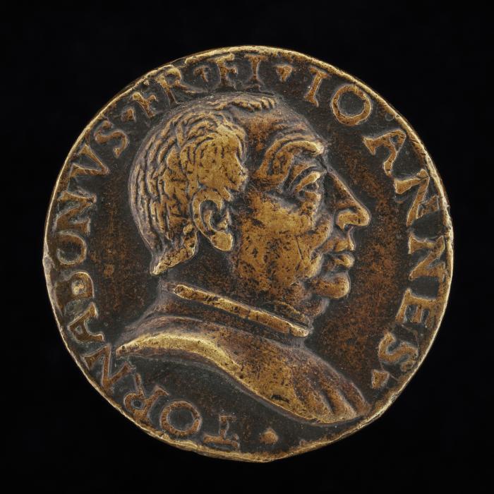 Image for Giovanni di Francesco Tornabuoni, 1428-1497, Florentine Banker and Statesman [obverse]; Hope Praying [reverse]