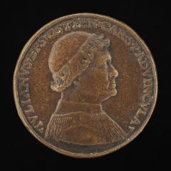Image for Giuliano della Rovere, 1443-1513, afterwards Pope Julius II, 1503 [obverse]; Clemente della Rovere, Bishop of Mende 1483-1504, Brother of Giuliano [reverse]