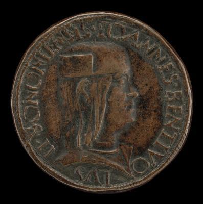 Image for Giovanni II Bentivoglio, 1443-1509, Lord of Bologna 1462-1506 [obverse]; Inscription [reverse]