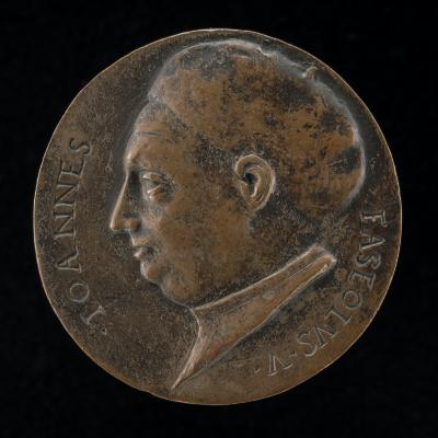 Image for Giovanni Fasiol [obverse]; Figure Holding Victory and Branch [reverse]