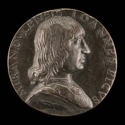 Image for Giovanni Pico della Mirandola, 1463-1494, Philosopher and Poet [obverse]; The Three Graces [reverse]