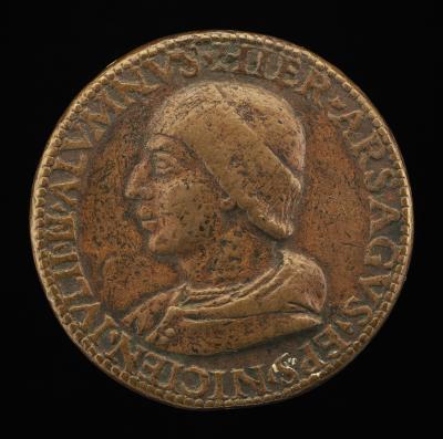 Image for Girolamo Arsago, Bishop of Nice, 1511-1542 [obverse]; Inscription [reverse]