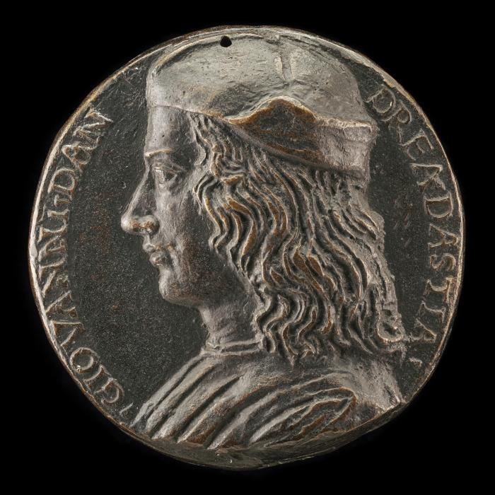 Image for Giovanni di Andrea da Stia [obverse]; Hope Gazing at the Sun [reverse]
