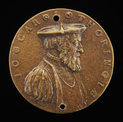 Image for Jean de Lorraine, 1498-1550, Cardinal 1518 [obverse]; Prudence with a Dragon at her Feet [reverse]