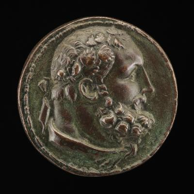 Image for Hercules [obverse]; A Messenger Brings Hercules the Shirt of Nessus [reverse]