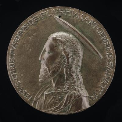 Image for Jesus Christ [obverse]; Christ in the Tomb [reverse]