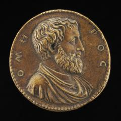 Image for Homer [obverse]; Armed Man with Other Figures [reverse]