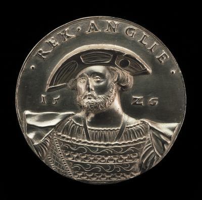Image for Henry VIII, 1491-1547, King of England 1509 [obverse]; Tudor Portcullis Crowned [reverse]