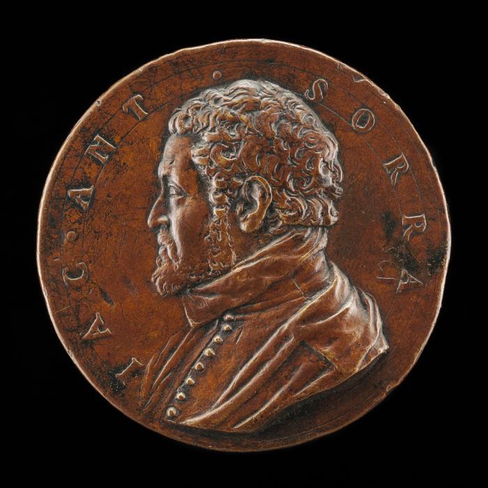 Image for Jacopo Antonio Sorra [obverse]; Sorra Shooting at a Mark [reverse]