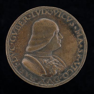 Image for Lodovico Maria Sforza, called il Moro, 1452-1508, 7th Duke of Milan 1494-1500 [obverse]; The Doge of Genoa [reverse]