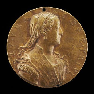 Image for Laura Gonzaga Trivulzio [obverse]; River-god Mincio [reverse]