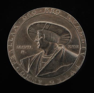 Image for Ludwig Senfl (Sennfel), c. 1486-1542/1543, German Musician and Composer [obverse]; Inscription [reverse]