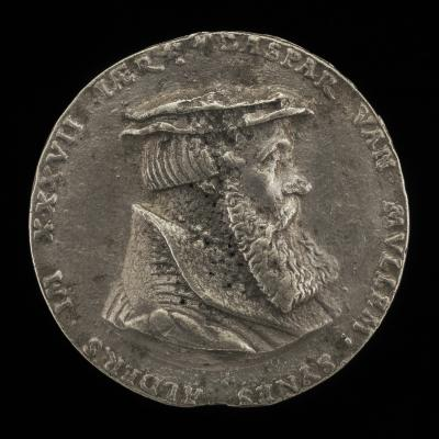 Image for Caspar von Mulheim, 1506-1570/1571, Counselor of Cologne [obverse]; Shield with House-mark [reverse]