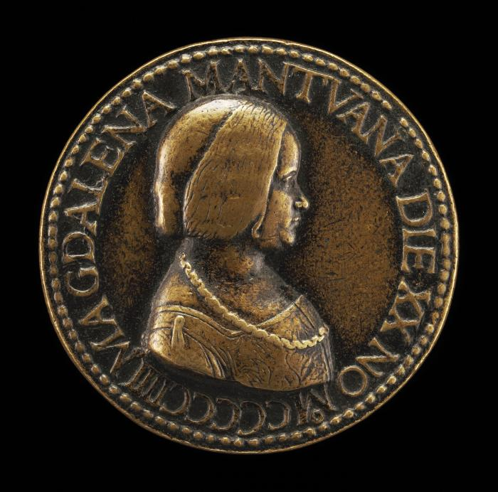 Image for Maddalena of Mantua [obverse]; Occasion in Pursuit of Time [reverse]