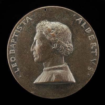 Image for Leone Battista Alberti, 1404-1472, Architect and Writer on Art and Science [obverse]; Winged Human Eye [reverse]