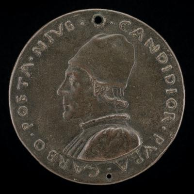 Image for Lodovico Carbone, 1430-1485, Poet [obverse]; Carbone Receiving a Wreath from Calliope [reverse]