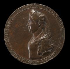 Image for Lavinia Fontana, 1552-1614, Bolognese Painter [obverse]; Lavinia Fontana Painting [reverse]