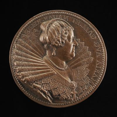Image for Marie de' Medici, 1573-1642, Wife of King Henri IV of France 1600 [obverse]; The Queen as Mother of the Gods [reverse]