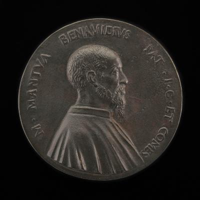 Image for Marco Mantova Benavides, 1489-1582, Lawyer and Collector [obverse]; Reclining Bovine [reverse]