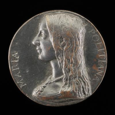 Image for Maria Poliziana [obverse]; Constancy Leaning on a Bundle of Arrows [reverse]