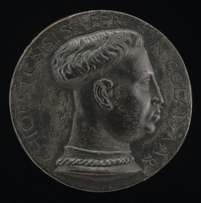 Image for Niccolo III d'Este, 1383-1441, Marquess of Ferrara 1393 [obverse]; The Este Shield [reverse]