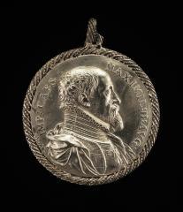 Image for Maximilian II, 1527-1576, Holy Roman Emperor 1564 [obverse]; Maria, 1528-1603, Empress 1548 [reverse]