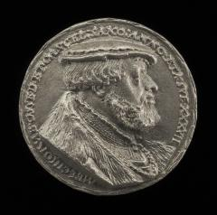 Image for Melchior von Osse, 1506-1557, Chancellor of Saxony [obverse]; Arms and Inscription [reverse]