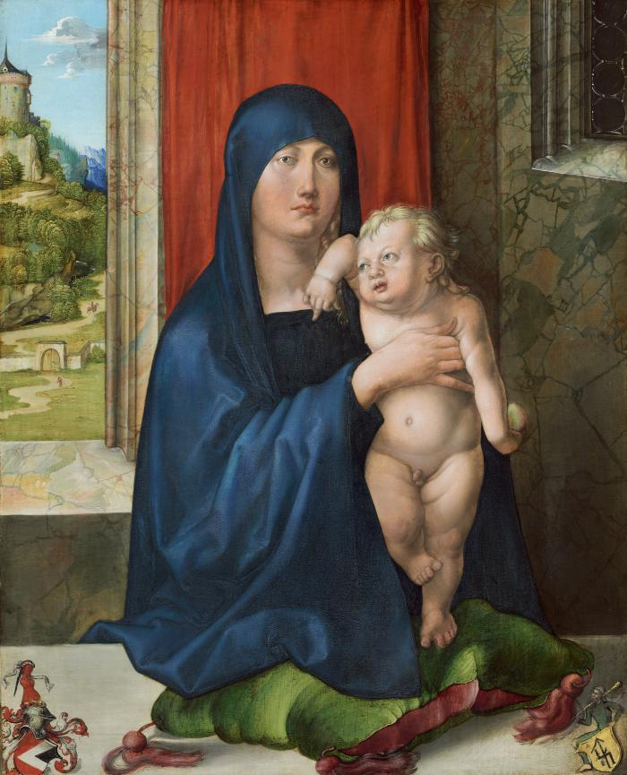 Image for Madonna and Child [obverse]; Lot and His Daughters [reverse]