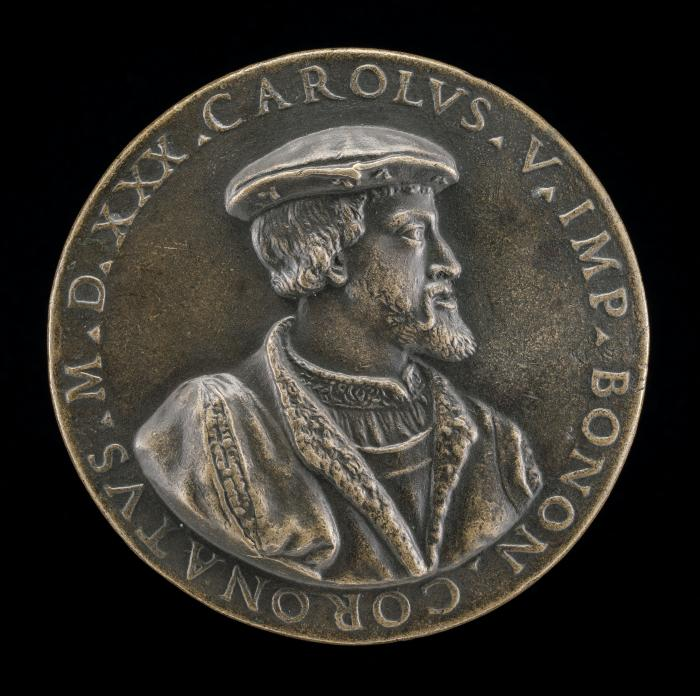 Image for Coronation Medal of Charles V, 1500-1558, King of Spain 1516, Holy Roman Emperor 1519-1556