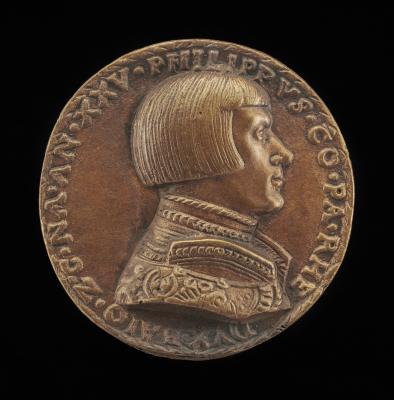 Image for Philipp von Pfalz-Neuburg, Count Palatine, 1503-1548 [obverse]; Shield with Casques and Crests [reverse]