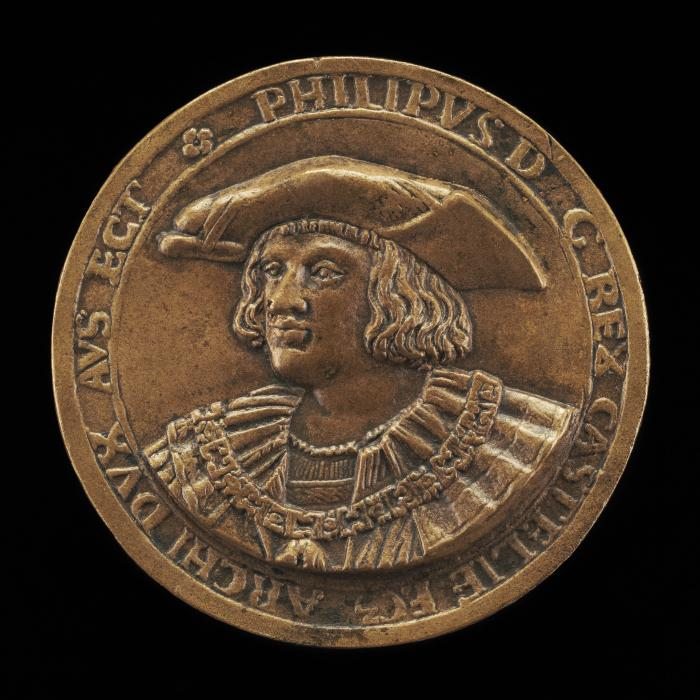Image for Philip II, 1527-1598, King of Spain 1556 [obverse]; Constancy [reverse]