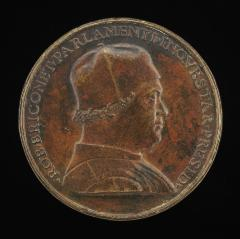 Image for Robert Briconnet, President of the Court of Inquiry [obverse]; Inscription [reverse]