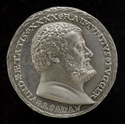 Image for Raymund Fugger, 1489-1535, Scholar and Patron of the Arts [obverse]; Allegory of Liberality [reverse]