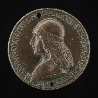 Image for Raimondo Lavagnoli, Commissary of Saxony in the 11th or 12th Century [obverse]; Arms of Lavagnoli [reverse]