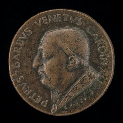 Image for Pier Barbo, Cardinal of San Marco, afterwards Paul II 1455 [obverse]; Barbo Shield [reverse]
