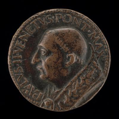 Image for Paul II (Pietro Barbo, 1417-1471), Pope 1464 [obverse]; Palazzo de Venezia [reverse]