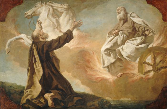 Image for Elijah Taken Up in a Chariot of Fire