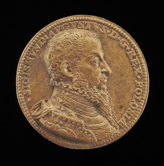 Image for Sigismund II Augustus, 1520-1572, King of Poland 1548 [obverse]; The King on Horseback [reverse]