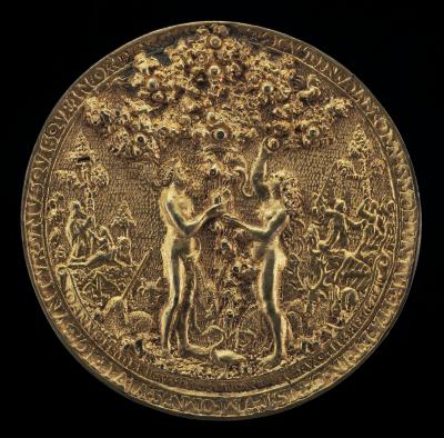 Image for The Fall of Man [obverse]; The Crucifixion [reverse]