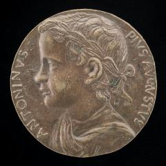 Image for The Emperor Caracalla [obverse]; Boldu with the Genius of Death [reverse]