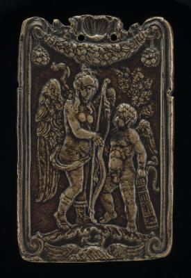 Image for Venus and Cupid [obverse]; Mercury and Minerva [reverse]