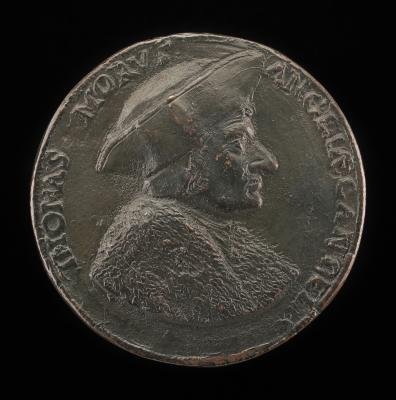 Image for Sir Thomas More, 1480-1535, Lord Chancellor of England 1529 [obverse]; Felled Cypress Tree [reverse]