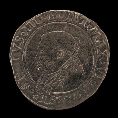 Image for Sixtus IV (Francesco della Rovere, 1414-1484), Pope 1471 [obverse]; Della Rovere Shield, Crossed Keys and Tiara [reverse]