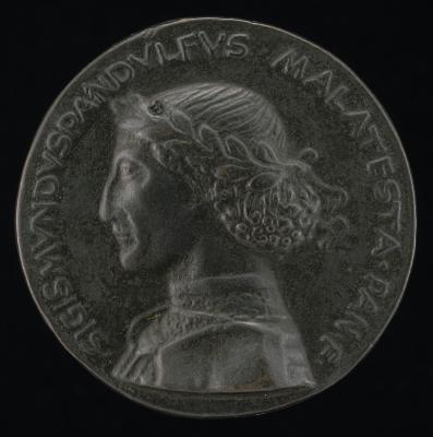 Image for Sigismondo Pandolfo Malatesta, 1417-1468, Lord of Rimini and Fano [obverse]; San Francesco at Rimini [reverse]